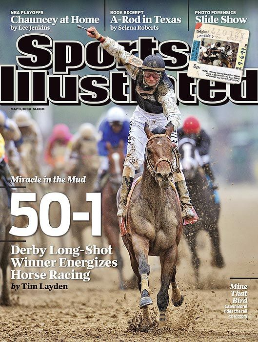 SI's Kentucky Derby Cover 2009