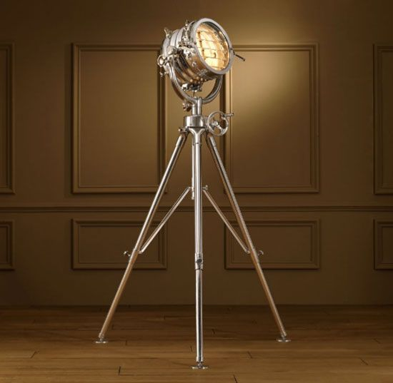 lampadaire design projecteur master royal sealight