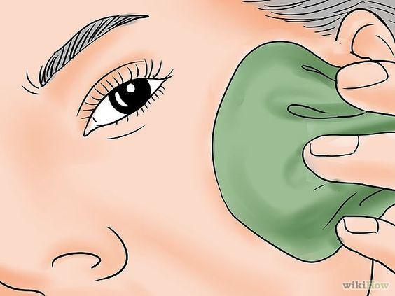 espinha interna - De forma alternativa, use o calor