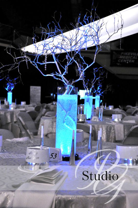 Sprays centerpieces and tables on pinterest