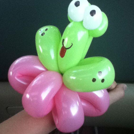 Pulsera de globos   -  Balloon bracelet