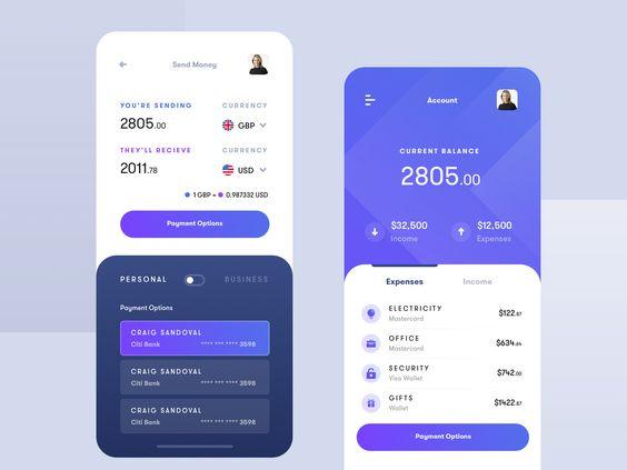 Finance Banking App Banking App Finance App App Design