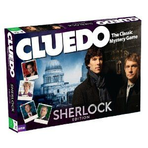 Official Cluedo Sherlock Board Game!  I could be wrong, but it looks like we can't get it in the US. Don't they know about us??
