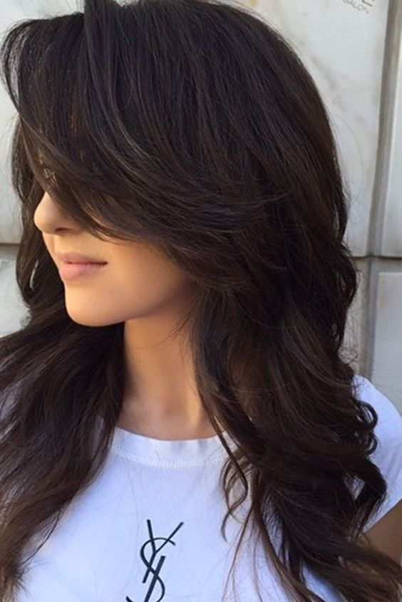 17 Cute And Romantic Layered Hairstyle Ideas For Long Hair Best Hairstyle Ideas Long Hair Styles Hair Styles Long Layered Hair