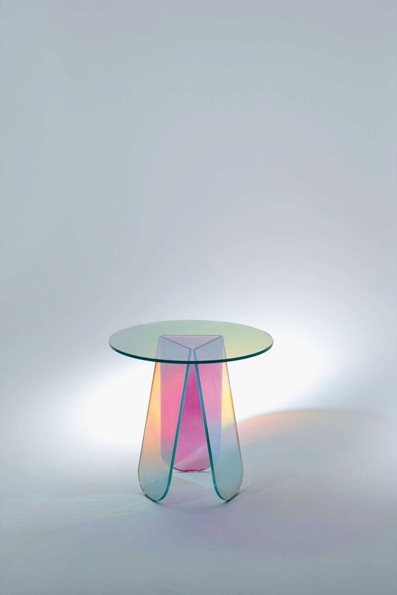 Milantrace 2014 / Selone del Mobile - Rho Fiera product, Glas Italia | http://www.yellowtrace.com.au/translucent-glass-furniture/