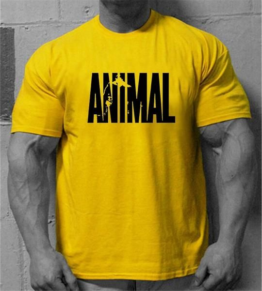 Muscleguys Brand Men S Animal Gyms Shirts Golds Npc Powerhouse Wear T Geekbuyig Mens Tshirts Bodybuilding Workout Clothes Mens Shirts