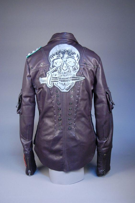 Image of Junker Designs Men's Leather Manson Jacket