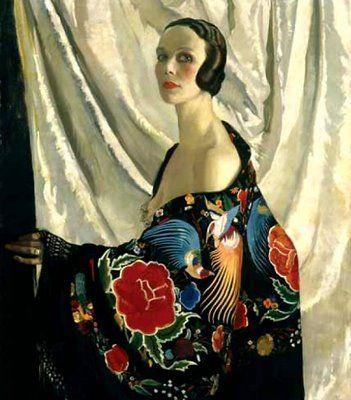 """Doris Zinkeisen - """"Self Portrait"""":"""