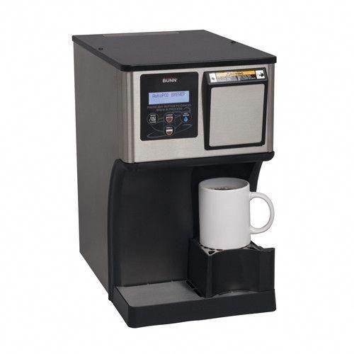 Bunn My Cafe Ap Autopod Auto Eject Pod Brewer Coffeepodmachines Pod Coffee Machine Industrial Coffee Maker Miele Coffee Machine