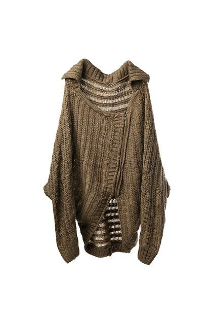 just the right shapeless cardi for multilayering