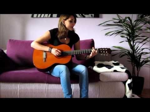 """Que Sera Sera"" on guitar (acoustic version) - by Julia"