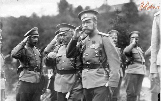 Николай II в Ставке.