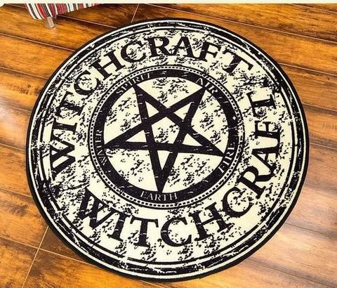 Witchcraft Area Rug Decor Recycled