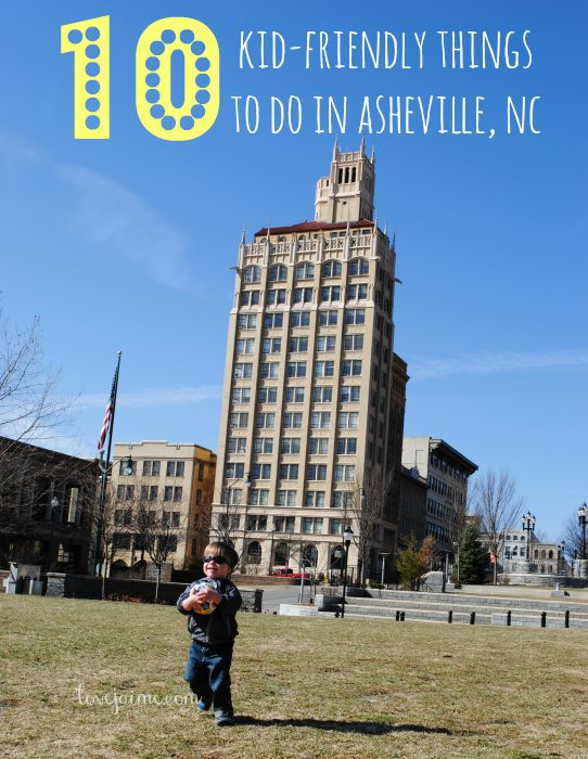 Things to do with kids in Asheville | http://lovejaime.com/asheville-things-to-do-with-kids/