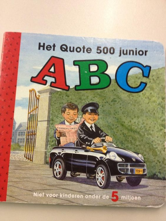 ABC-boekje van Quote 500