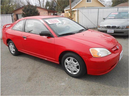 Coupe 2001 Honda Civic Lx With 2 Door In Roseville Ca 95678
