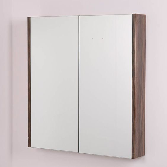 door walnut mirror cabinet home stuff i want pinterest mirror