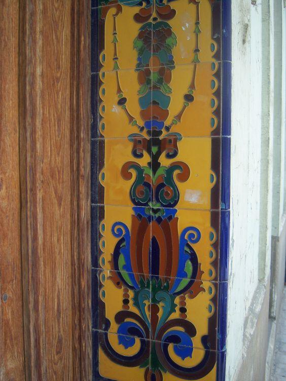 azulejos en jamba