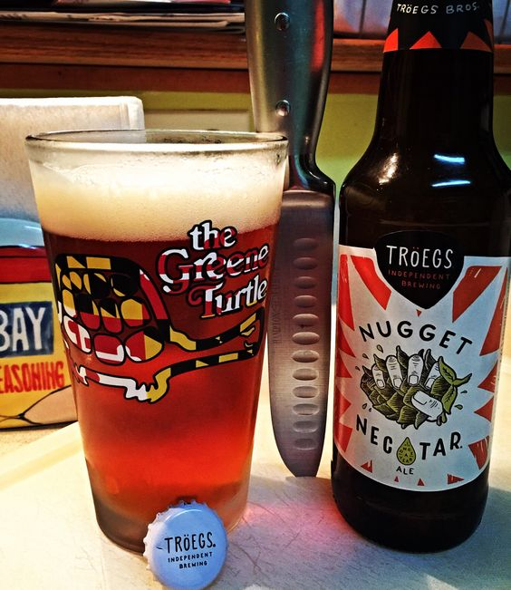 Tröegs Independent Brewing | Nugget Nectar | Imperial/Double | Red Ale | craft beer