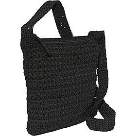 The Sak Casual Classics Crochet Crossbody - Taupe - via eBags.com!