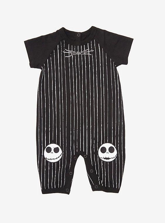 Jack Zero Image Baby Creeper//Bodysuits Nightmare Before Christmas Sally