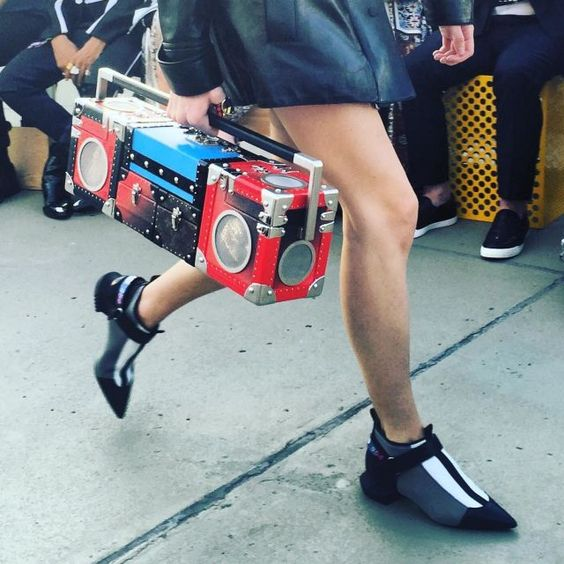 But the Real Show-Stoppers Were These Boombox Trunks - Louis Vuitton