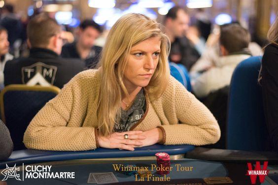 #WiPT - Julie Brochu. #Winamax #poker