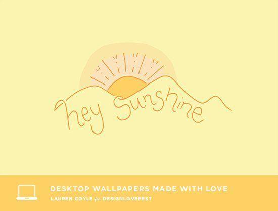 Freebie Wallpaper Custom Illustration Made For Design Love Fest Cute Wallpapers For Computer Cute Wallpapers Computer Wallpaper