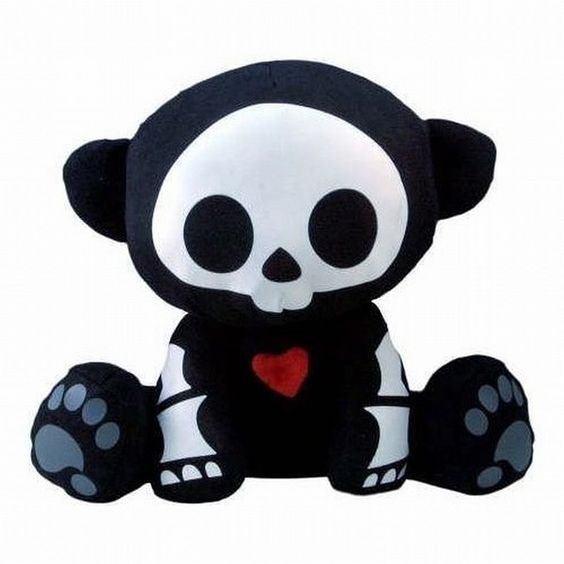 Skelanimals Andy Plush ($190) ❤ liked on Polyvore featuring plushies