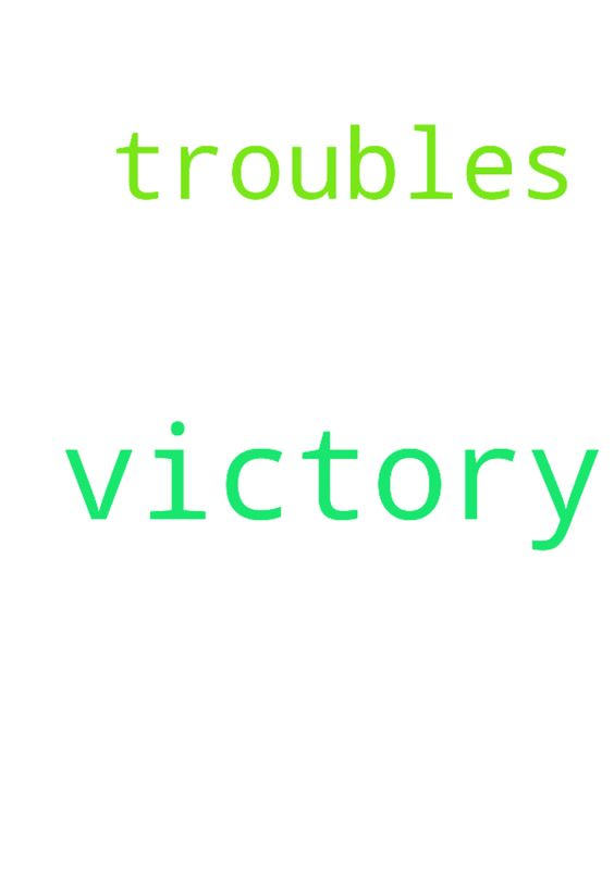 victory -   Lord i pray that i would have a victory over my troubles.   Posted at: https://prayerrequest.com/t/8SO #pray #prayer #request #prayerrequest