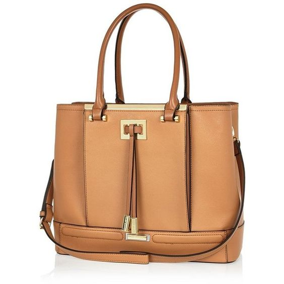 tan handbags tote