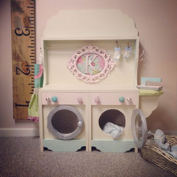 little kids washer and dryer unit little kid projects pinterest toys fun activities to do. Black Bedroom Furniture Sets. Home Design Ideas