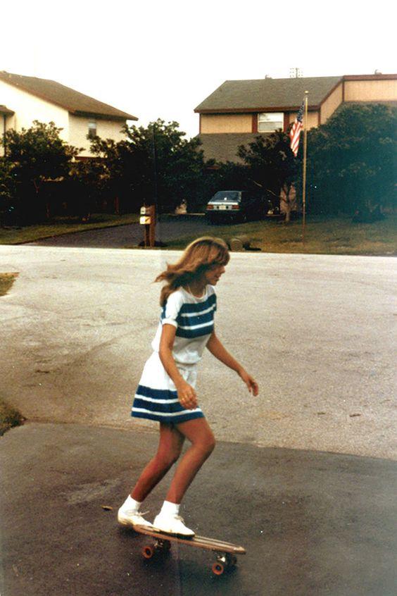 Everyday Fashion Girls 1980s