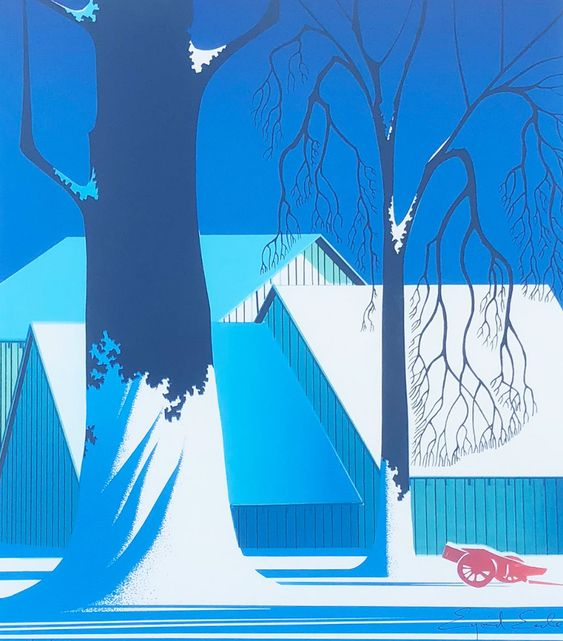 Turquoise 1983 by Eyvind Earle