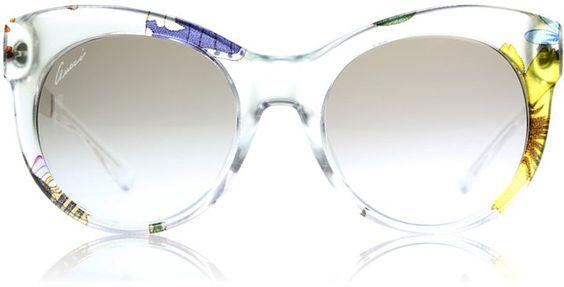 """Pin for Later: 30 der coolsten Sonnenbrillen für einen stylischen Sommer  Gucci """"Flora"""" Sonnenbrille (230 €)"""