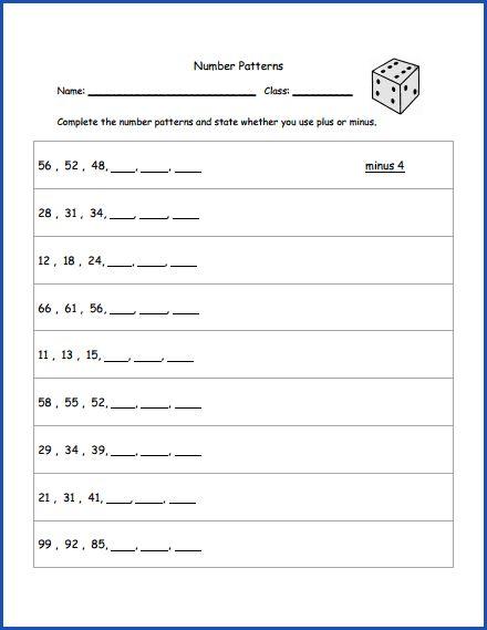 math worksheet : math number patterns worksheet  2nd grade math  pinterest  : Math Number Patterns Worksheets
