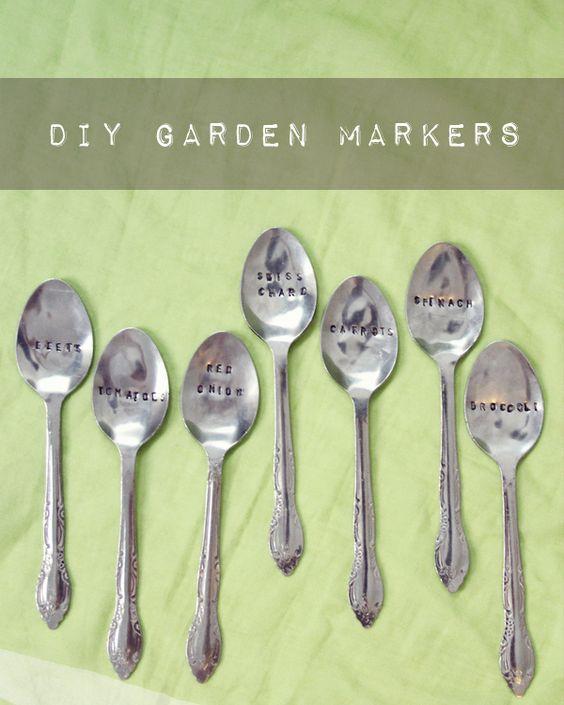 DIY Vegetable Garden Markers