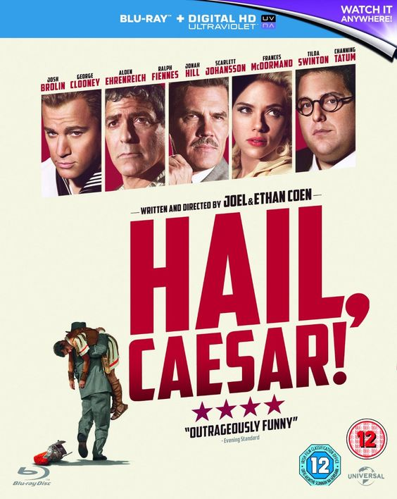 Hail, Caesar! [Blu-ray] [2016]: Amazon.co.uk: Josh Brolin, George Clooney, Alden…