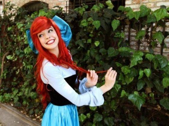 ariel, the little mermaid, mermaid, blue dress | Wheretoget.it