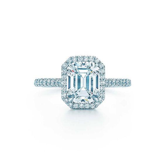 tiffany soleste smaragdschliff verlobungsringetiffany co i heart jewelry pinterest. Black Bedroom Furniture Sets. Home Design Ideas