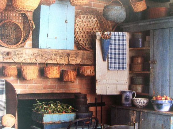 Primitive ~★AMERICAN COUNTRY HOME★~ ---Early Decorating Book |