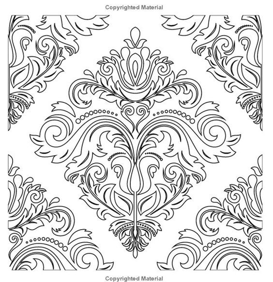 Anti-coloring for adults. Art Therapy | VK