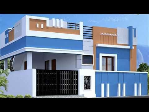 House Designs Front Elevations Modern House Front Elevations 1