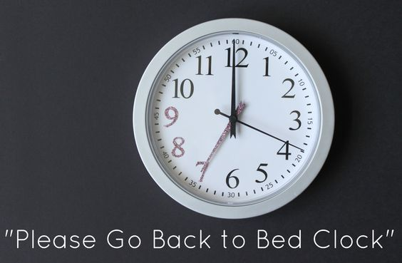 A go back to bed clock!
