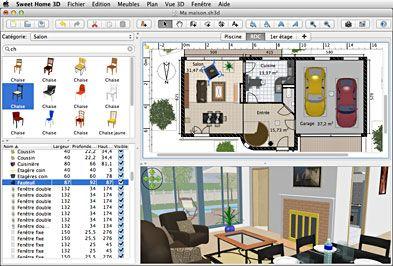 sweet home 3d draw floor plans and arrange furniture