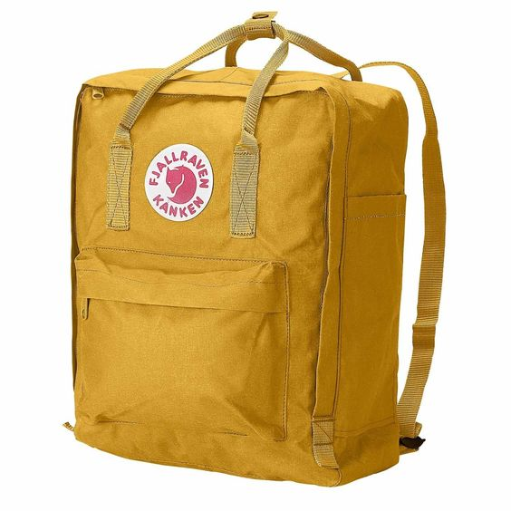 Amazon.com: Fjallraven Kanken Daypack, Ox Red: Sports & Outdoors