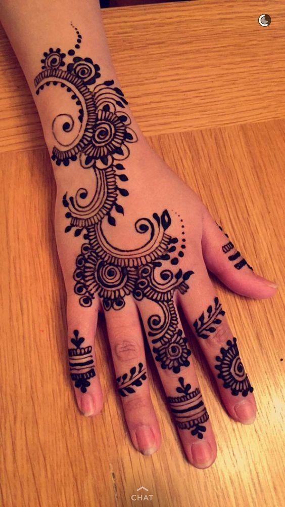 Pin Em Indian Wedding Mehendi Henna Design Ideas