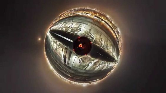 Little Planet (360 Grad Timelapse)