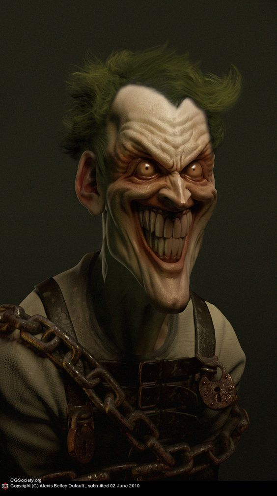 Joker by Alexis Belley Dufault | 3D | CGSociety | 1Sculpt ...
