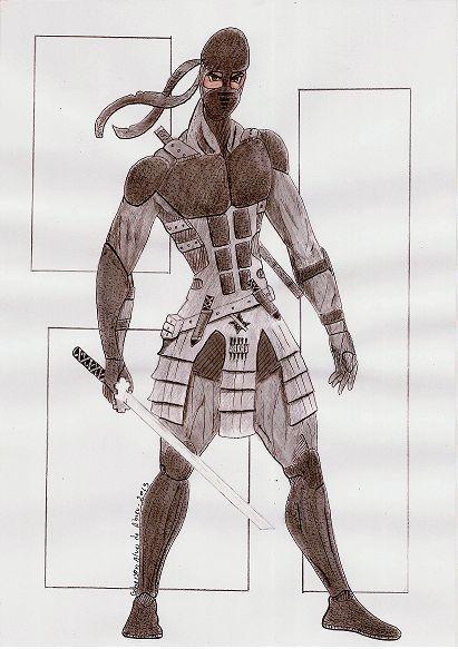 Criação - Guerreiro Ninja